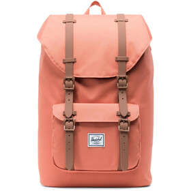 Herschel Little America Mid-Volume Zaino 17L, apricot brandy/saddle brown